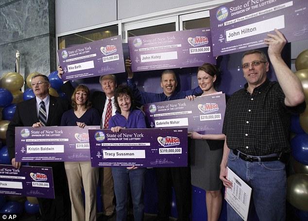 Самые крупные выигрыши лотерею в сша